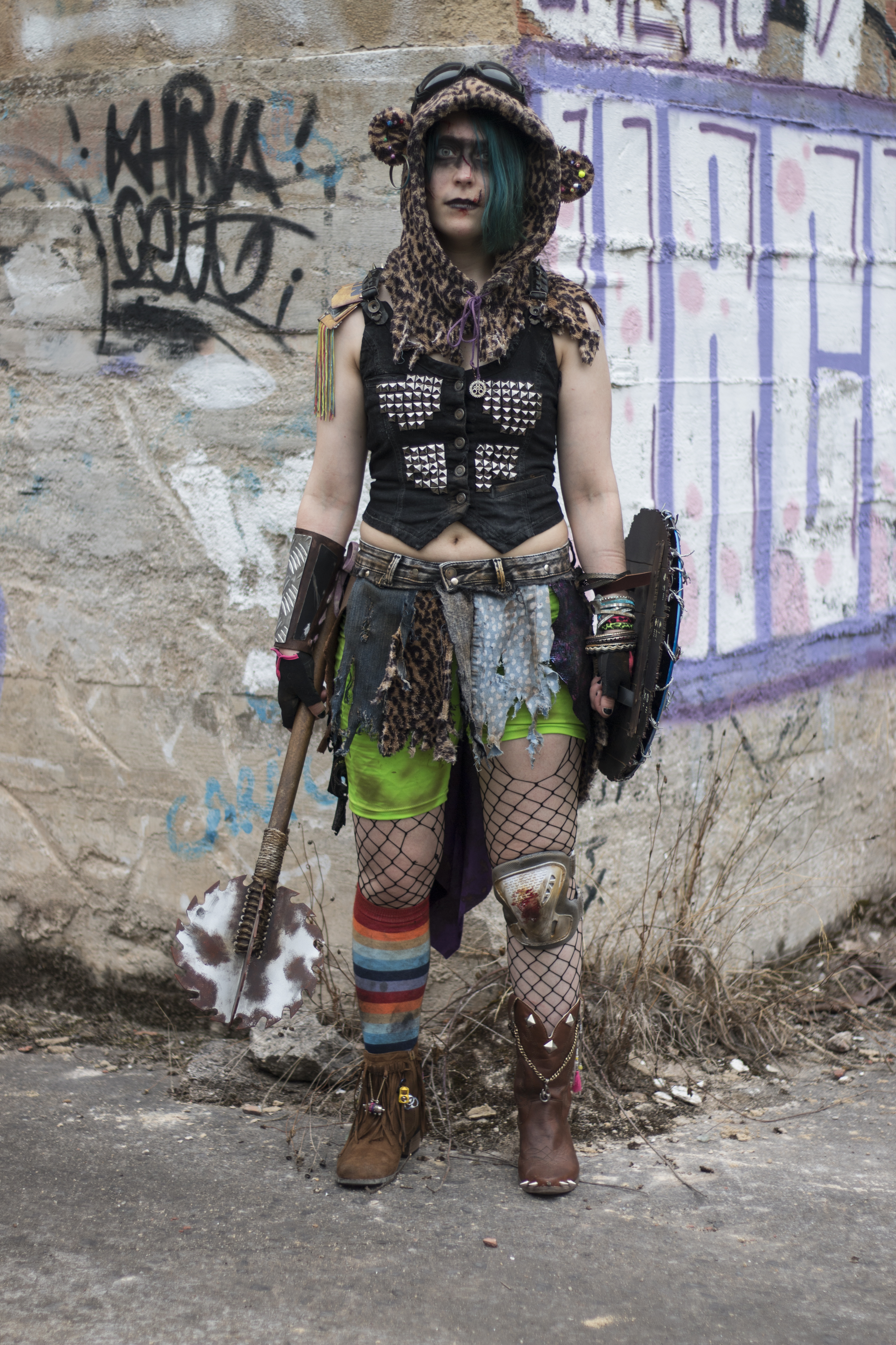 10. Piru [España] - Dakota Grizzly (Punkapocalyptic)