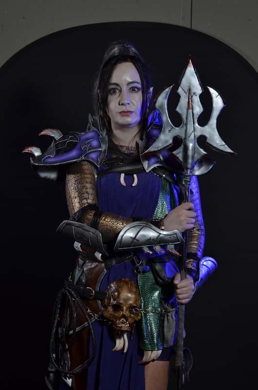 7. Temiscira Cosplay [España] - Señor de las Bestias, Druchii (Elfos Oscuros de Warhammer fantasy)