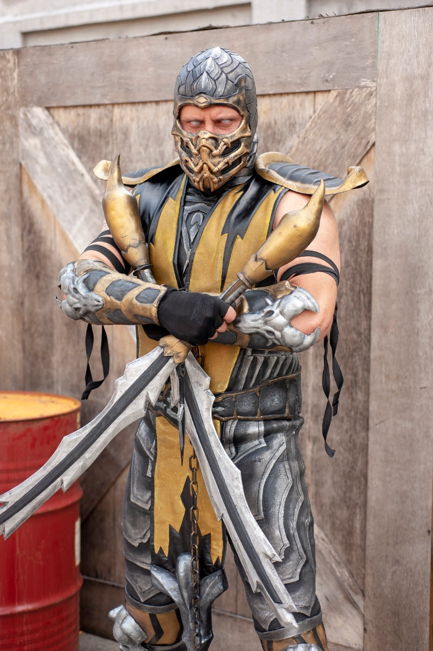 11. André Scorpion [Brasil] - Scorpion (Mortal Kombat 9)