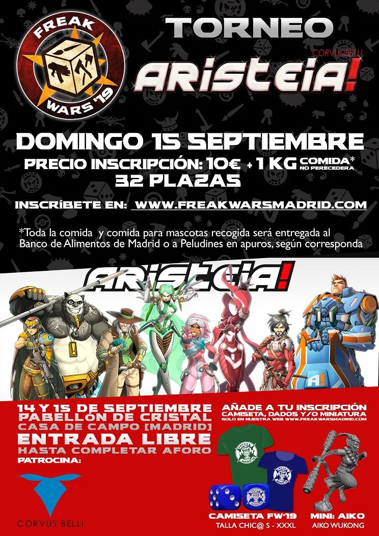 Torneo Aristeia Freak Wars 19