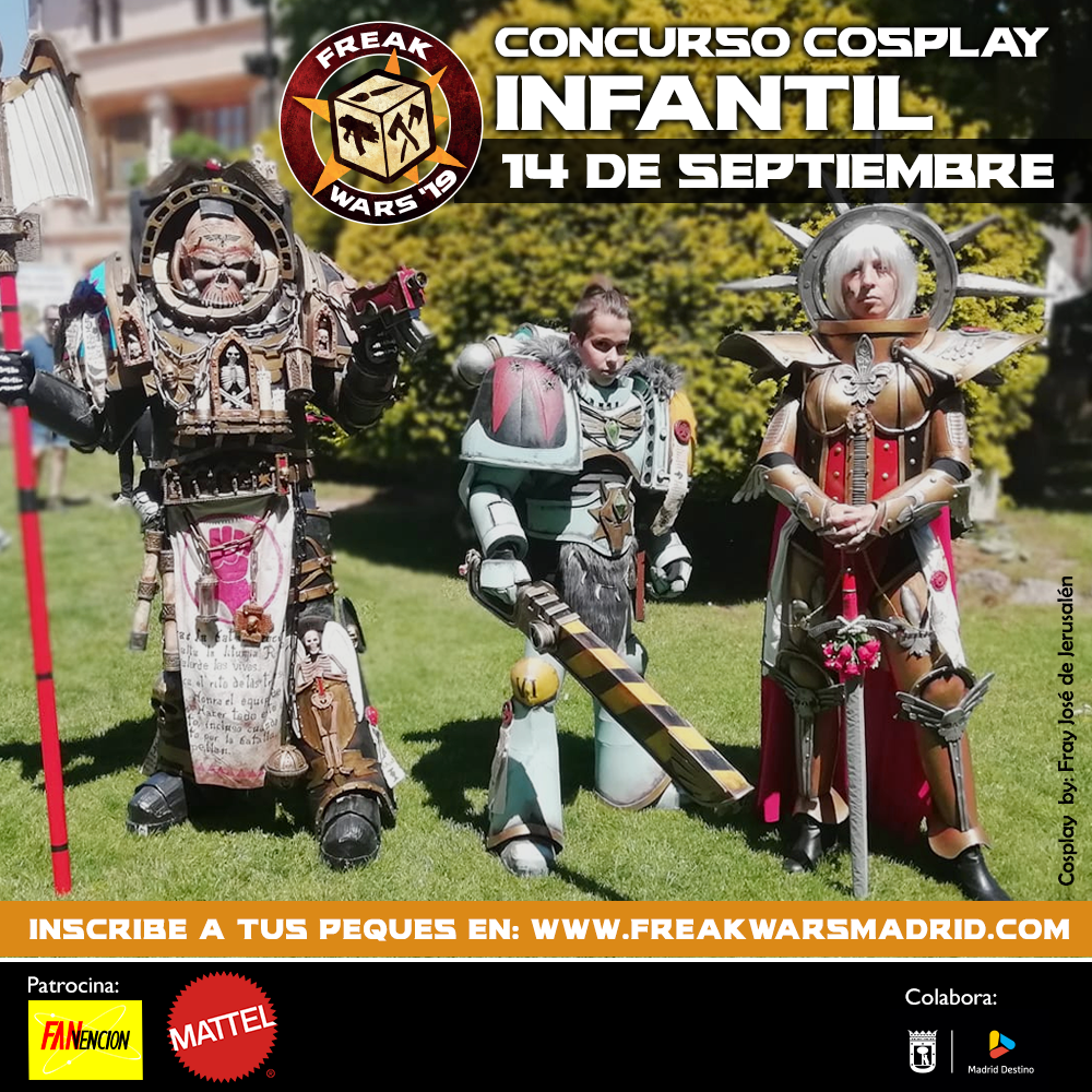 Concurso Cosplay Infantil Freak Wars 19