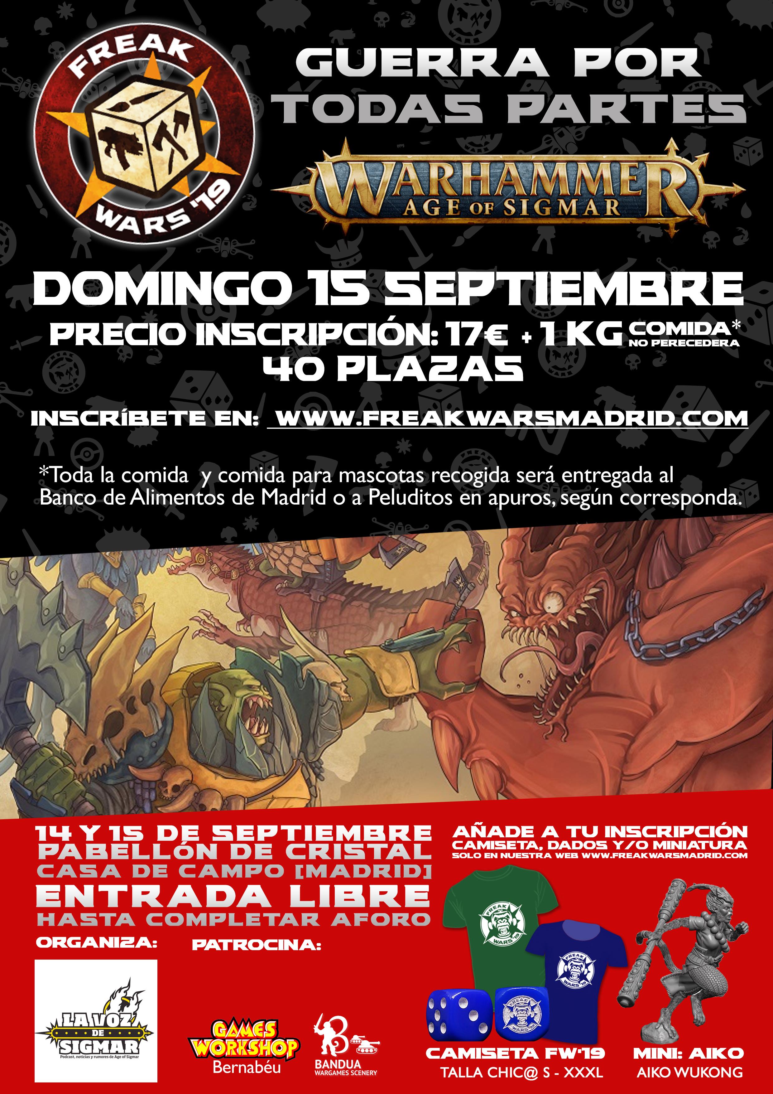 Torneo AoS Guerra en Todas Partes II Freak Wars 19
