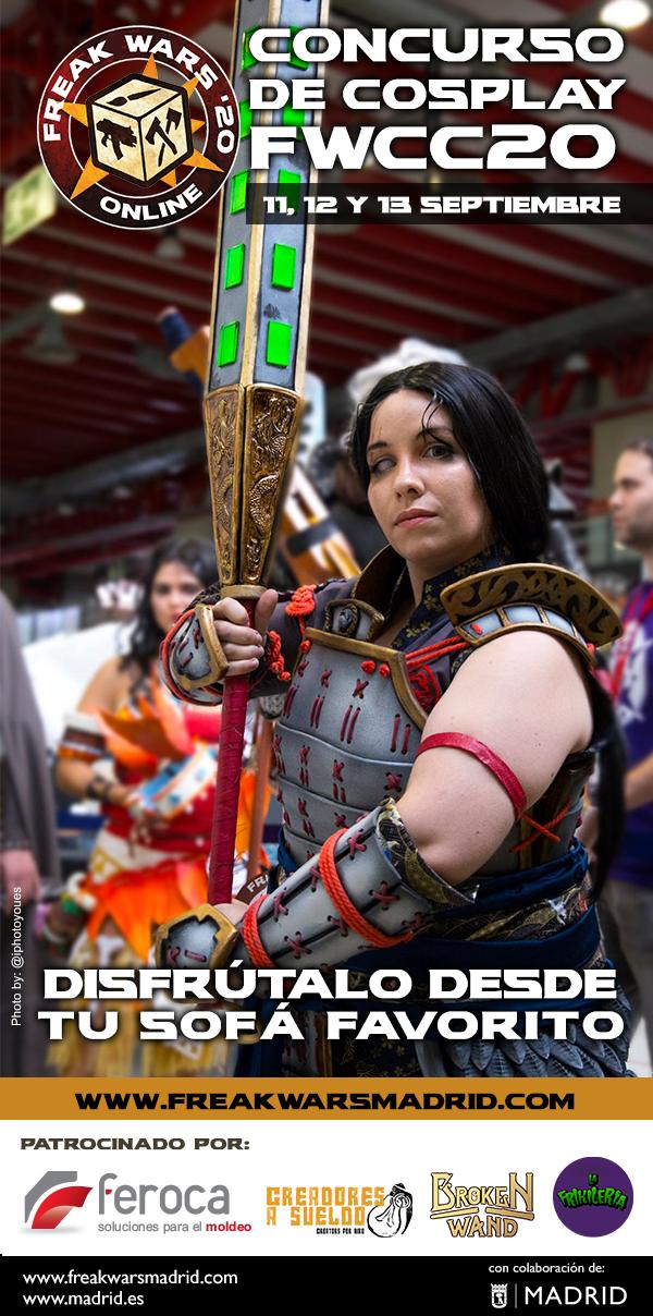Concurso_cosplay_FreakWars_2020_online