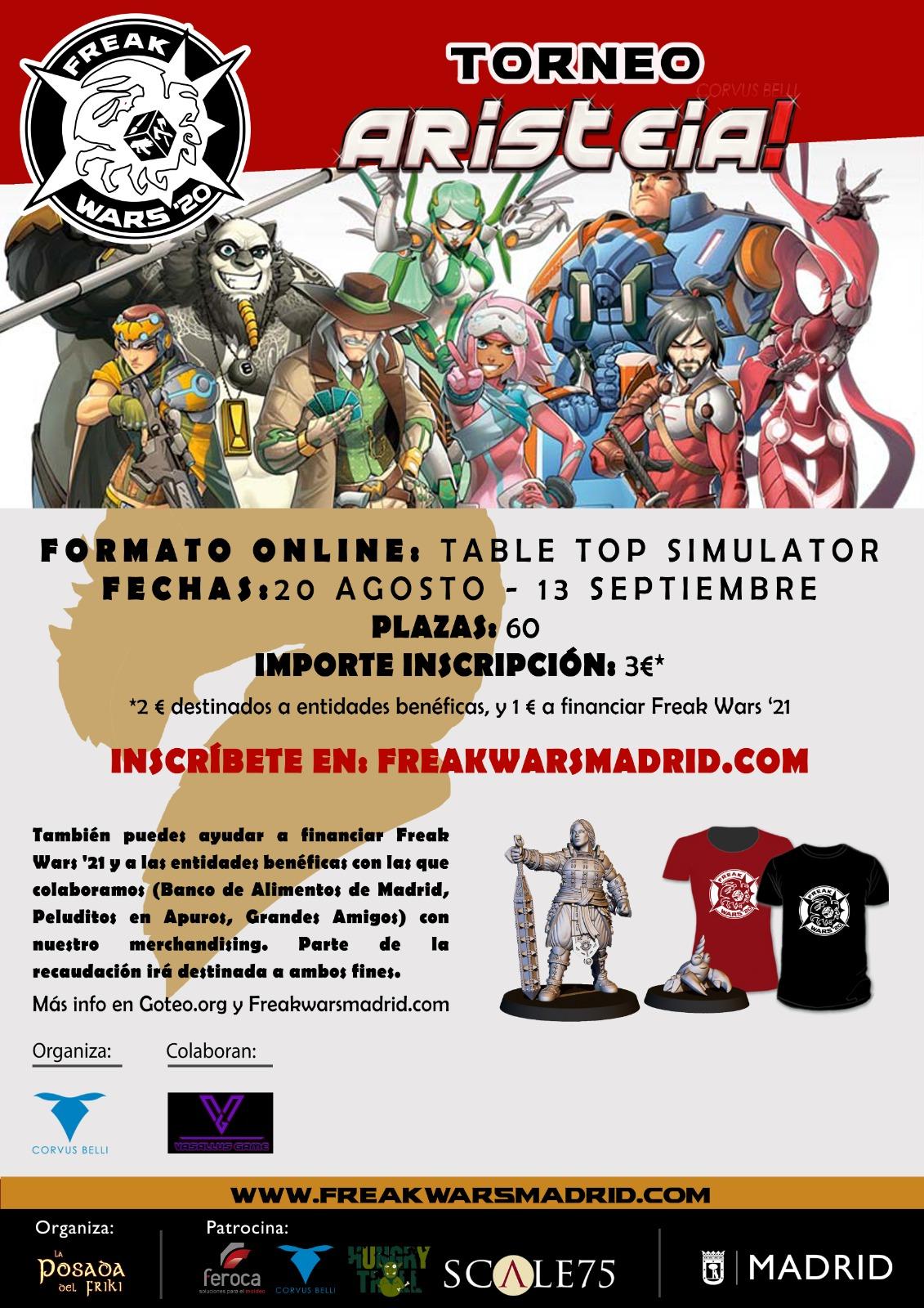 Torneo Aristeia! Online FW 2020