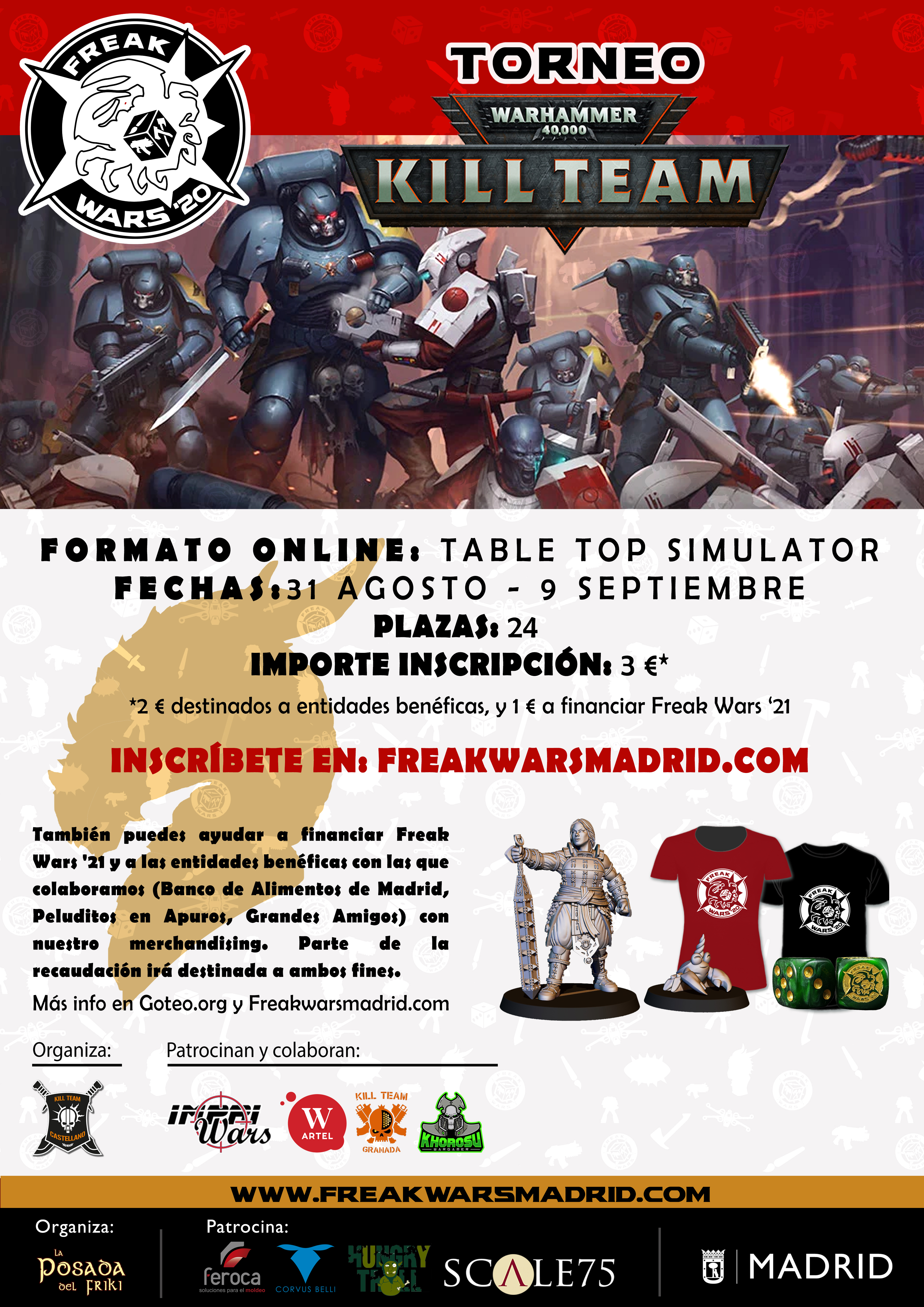 Torneo Kill Team Freak Wars 2020