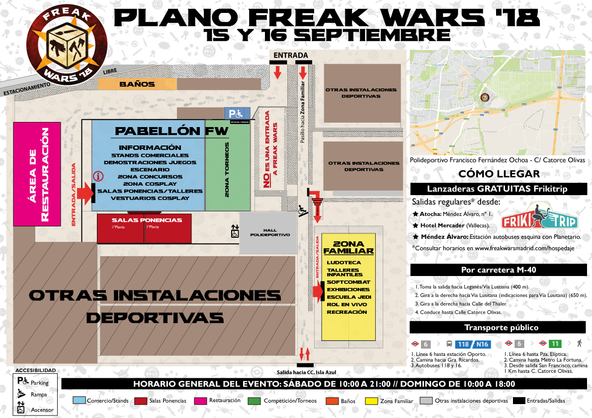 plano freak wars 2018 exterior