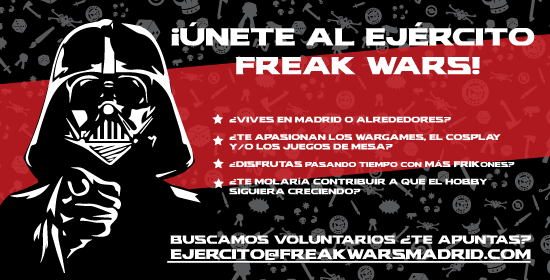 freak wars voluntarios