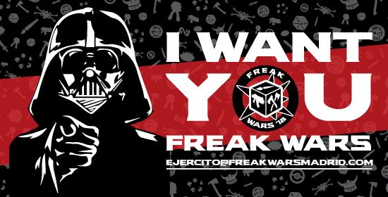Voluntarios Freak Wars